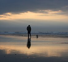 Man and his dog by natmic