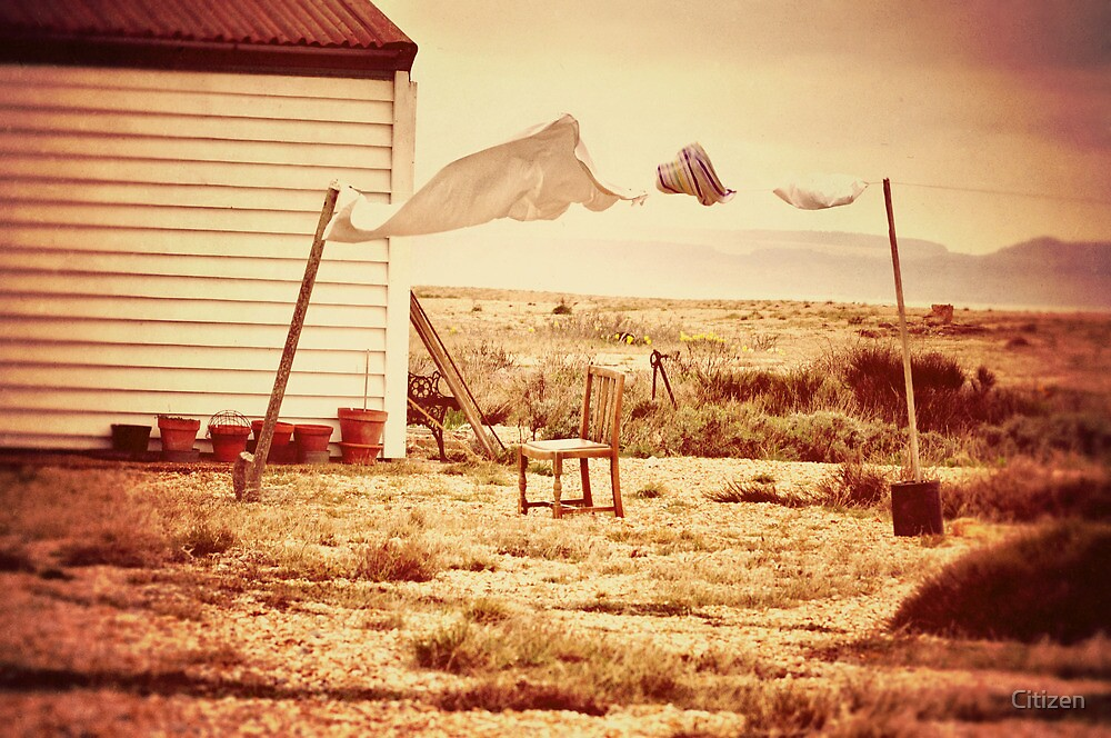 Wash Day in Dungeness by Nikki Smith
