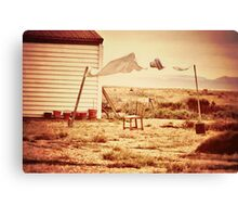 Wash Day in Dungeness Canvas Print