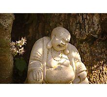 Spring Smiling Buddha  Photographic Print