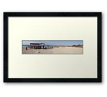 Gaidouronisi Beach  Framed Print
