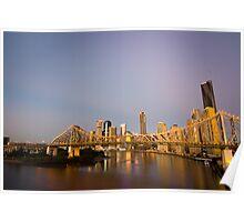Story Bridge Sunrise Poster