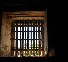 Old gaol cell window by litratista
