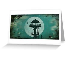 Seventh Heaven Tree House Greeting Card