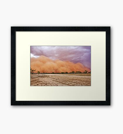 Time To Get OUT! Framed Print