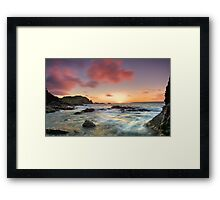 The other side of torment Framed Print