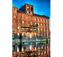 Abandoned Flour Mill HDR Photographic Print