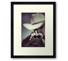 Law dog Framed Print