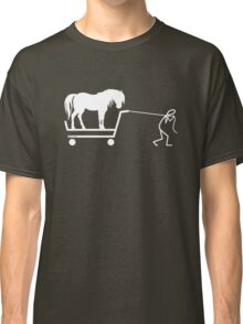 Man and Horse Classic T-Shirt