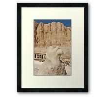 Ra and Hatshepsut Framed Print