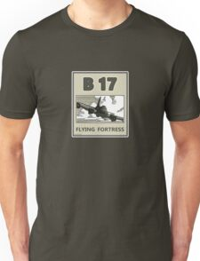 B17 in the skys over Europe Unisex T-Shirt