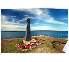 Falklands War - Welsh Guards Memorial Poster