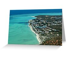 FROM THE AIR Greeting Card