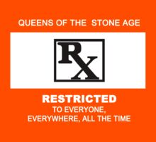 Queens of the Stone Age Rated RX Deluxe Edition by AluminiumEagles