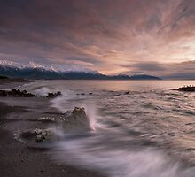 Kaikoura Caromello Splash by Ken Wright
