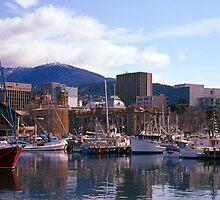Victoria Dock, Hobart, Spring 2010—Kodachrome 64 by Brett Rogers