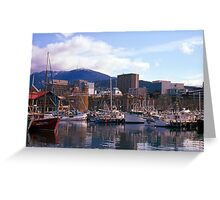Victoria Dock, Hobart, Spring 2010—Kodachrome 64 Greeting Card