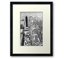 Macys - B&W Framed Print