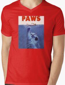 PAWS Mens V-Neck T-Shirt