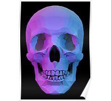 Funky Skull Poster