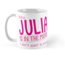 Unless JULIA is in the movie I dont want to know! Mug