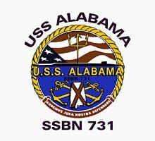 USS Alabama (SSBN-731) Crest Unisex T-Shirt