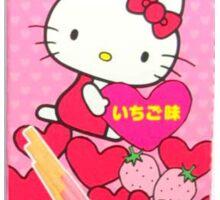 Strawberry Hello Kitty  Sticker