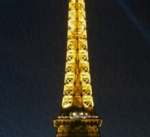 Midnight in Paris: Tour Eiffel Sticker