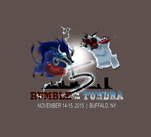 Rumble in the Tundra 5 Apparel Gear (w/ Grey Background) Unisex T-Shirt