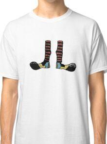 Cool Cute Funny Clown Feet Classic T-Shirt