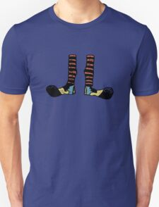 Cool Cute Funny Clown Feet T-Shirt