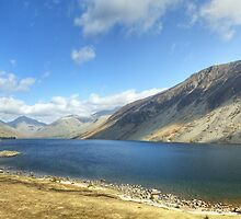 A Wastwater Panorama by VoluntaryRanger