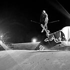Freestyle skiing by Asher Haynes