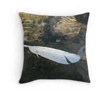 Avian droplet Throw Pillow