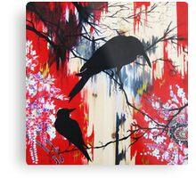 black birds 1 Metal Print