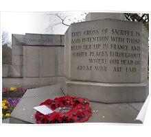 World War II Memorial  Poster