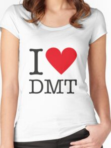 I love DMT Women's Fitted Scoop T-Shirt