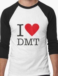 I love DMT Men's Baseball ¾ T-Shirt