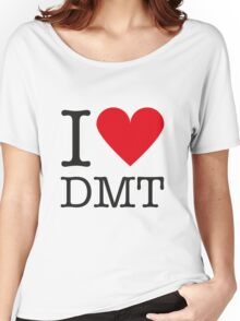 I love DMT Women's Relaxed Fit T-Shirt