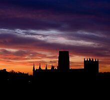 Durham Cathedral Sunrise by a h