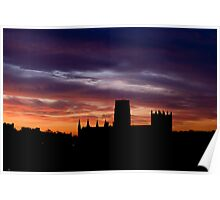 Durham Cathedral Sunrise Poster