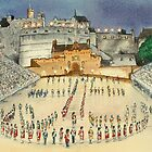 Edinburgh Tattoo by Lynne  Kirby