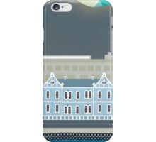 Capetown, South Africa - Skyline Illustration by Loose Petals iPhone Case/Skin