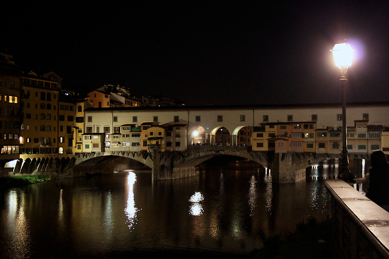 Ponte Vecchio by night by kbrimson