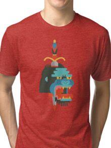 Gorilla  Tri-blend T-Shirt