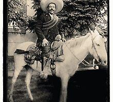 "1908 Photo of Francisco ""Pancho"" Villa on Horseback by avots"