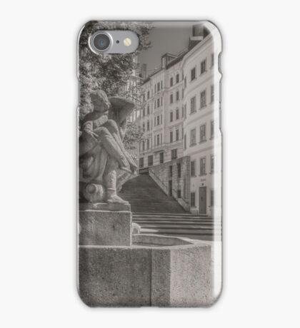 Memorial fountain iPhone Case/Skin