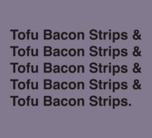 Tofu Bacon Strips by AdrienneOrpheus