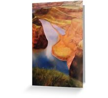Landscape Commissioned Painting Greeting Card