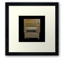 Cigarette Automat Framed Print